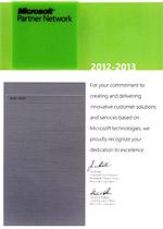 Microsoft - Gold OEM Partner