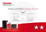 Toshiba - Advance Storage Partner
