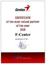 Genius - Most Valued Partner