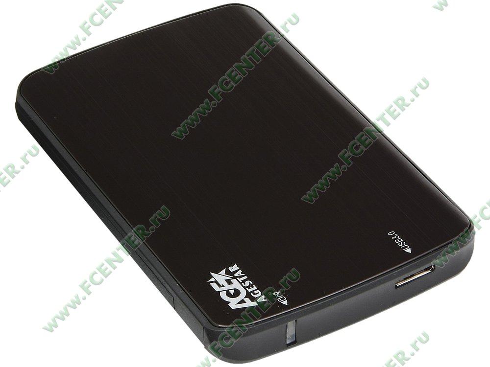 """Контейнер Agestar """"3UB2A12"""" (USB3.0). Вид спереди."""