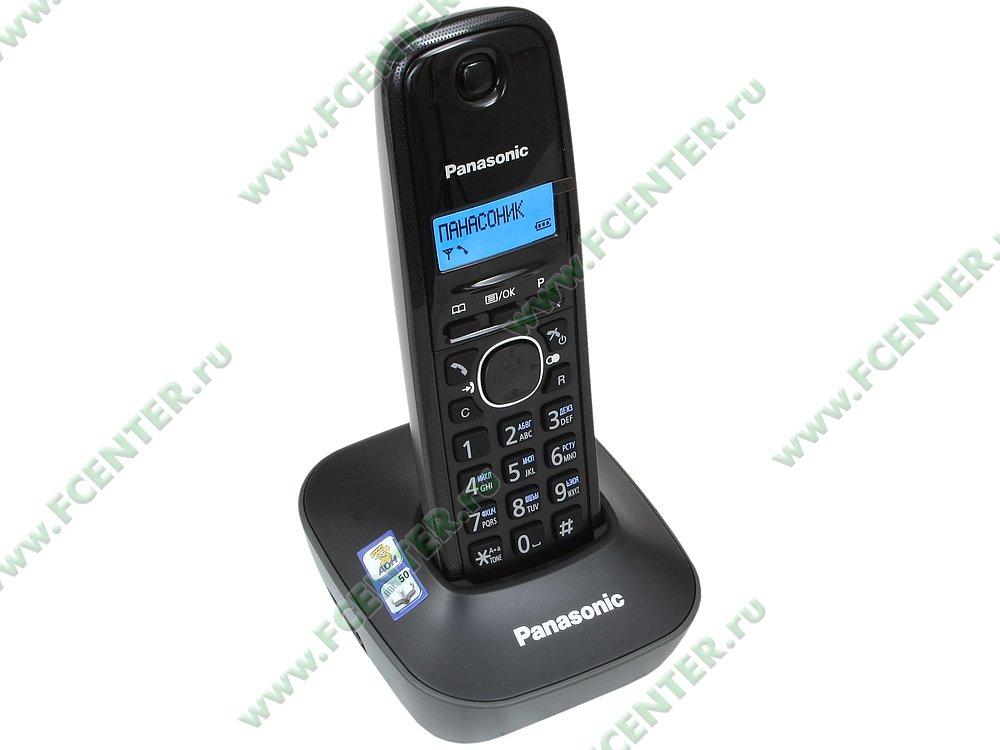 "Радиотелефон Panasonic ""KX-TG1611RUH"". Вид спереди."