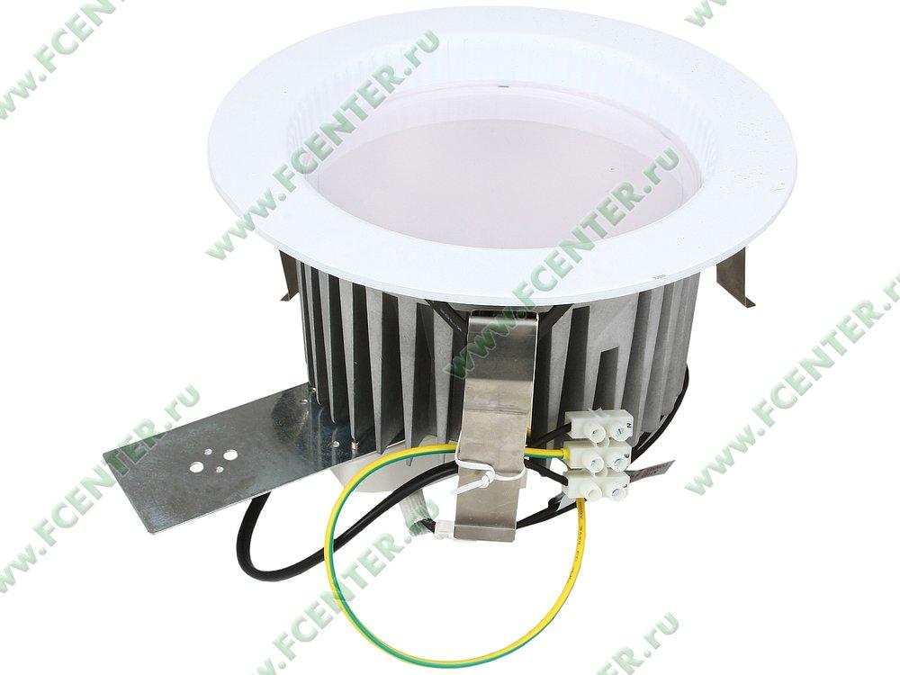 """Светильник светодиодный FlexLED """"LED-DL-30W-01W"""". Вид спереди."""