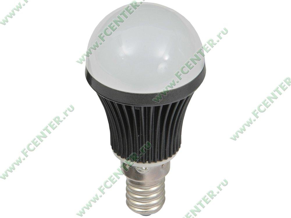 "Лампа светодиодная FlexLED ""LED-E14-4W-01W"". Вид спереди."