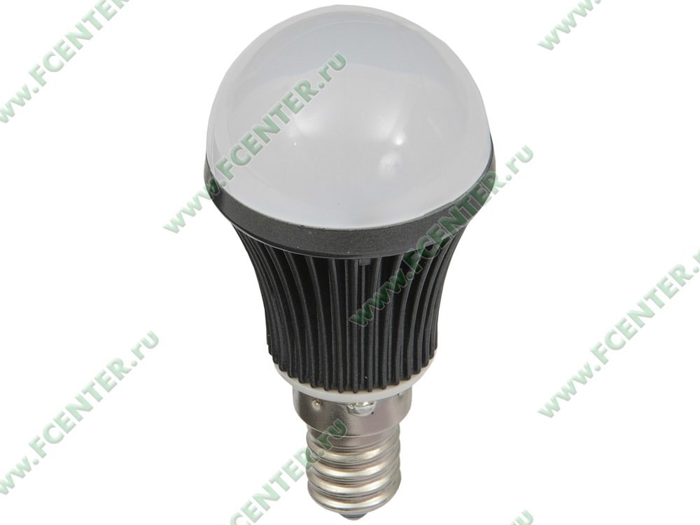 """Лампа светодиодная FlexLED """"LED-E14-4W-01C"""". Вид спереди."""