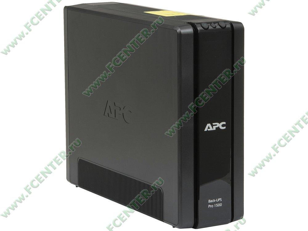 """Источник бесперебойного питания 1500ВА APC """"Back-UPS Pro 1500"""" (USB). Вид спереди."""