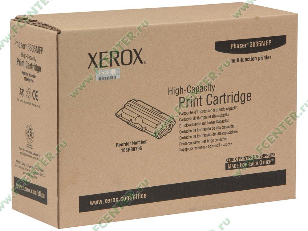 Тонер картридж cactus cs-ph3635 108r00796 черный для xerox phaser 3635 (10000стр