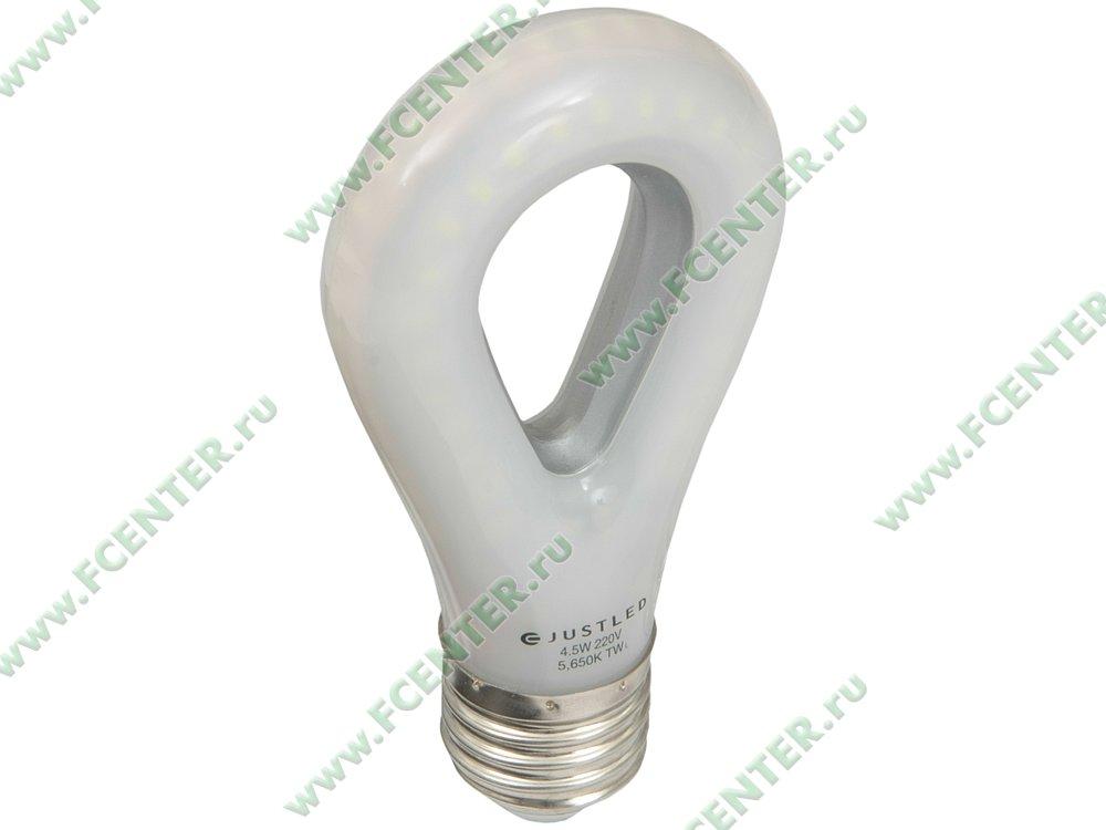 "Лампа светодиодная JustLED ""TLB-01-4.5W-1C"". Вид спереди."