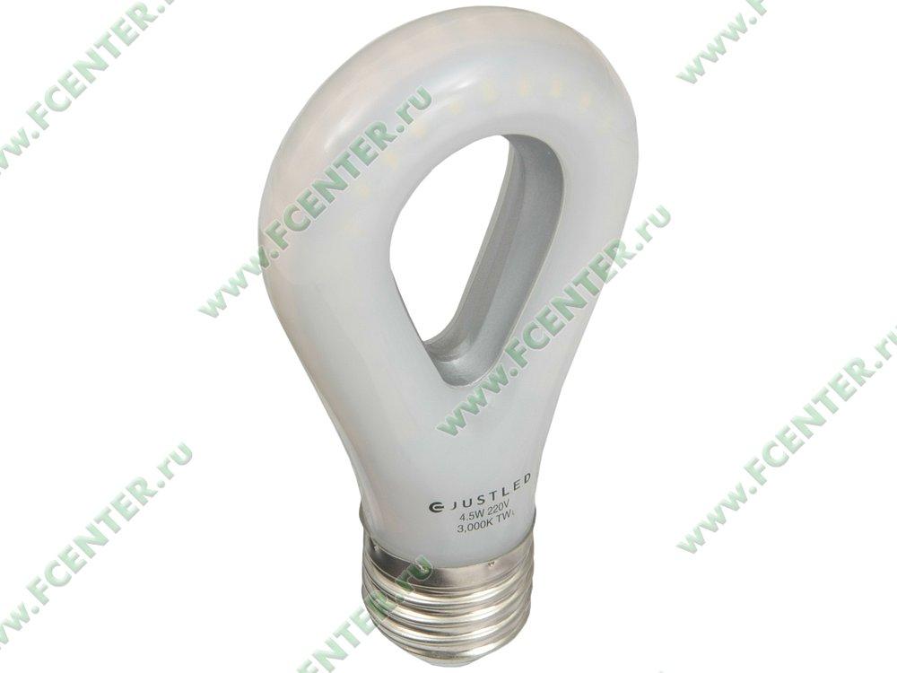 """Лампа светодиодная JustLED """"TLB-01-4.5W-1W"""". Вид спереди."""