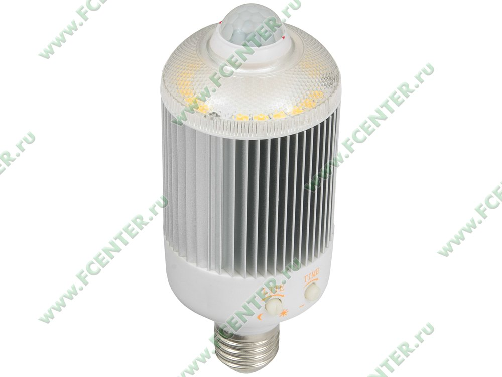 "Лампа светодиодная FlexLED ""LED-E27-20W-01W-Sen"". Вид спереди."