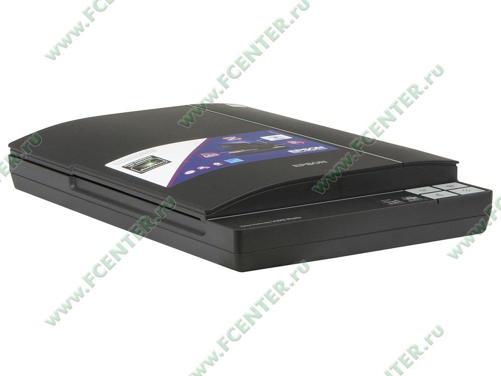 "Сканер Epson ""Perfection V370 Photo"" A4 (USB2.0). Вид спереди 1."