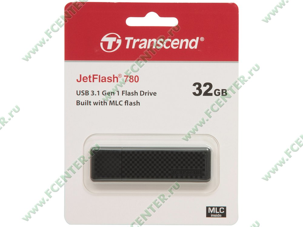 "Накопитель USB flash 32ГБ Transcend ""JetFlash 780"" (USB3.0). Коробка 1."