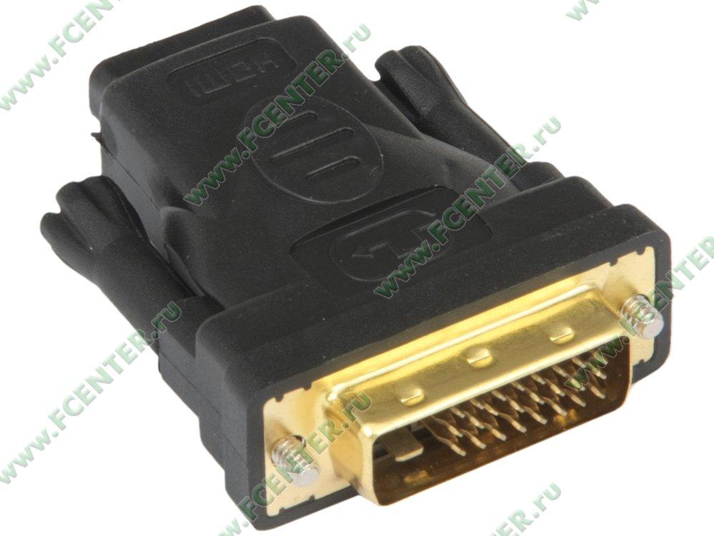 "Переходник DVI<->HDMI(F) Flextron ""ADH-DMHF-01-P1"". Вид спереди."
