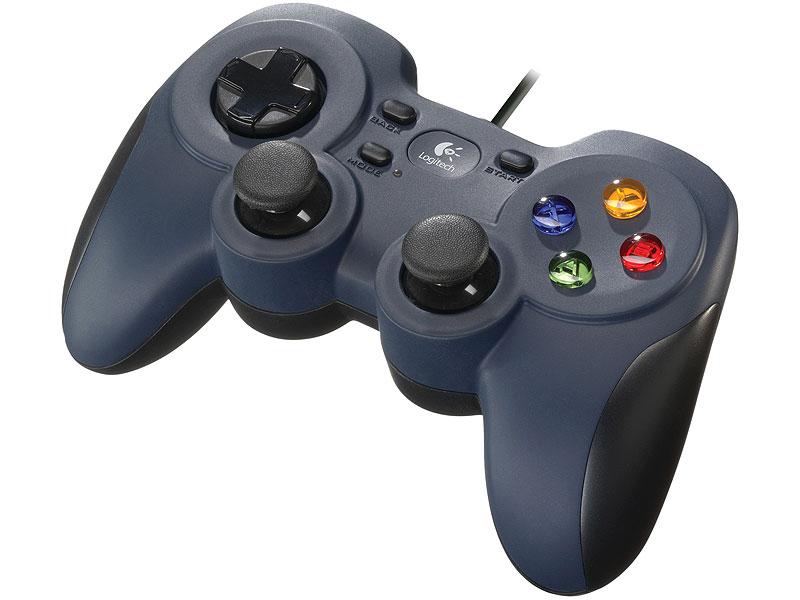"""Геймпад Logitech """"F310 Gamepad"""" (USB). Фото производителя 1."""