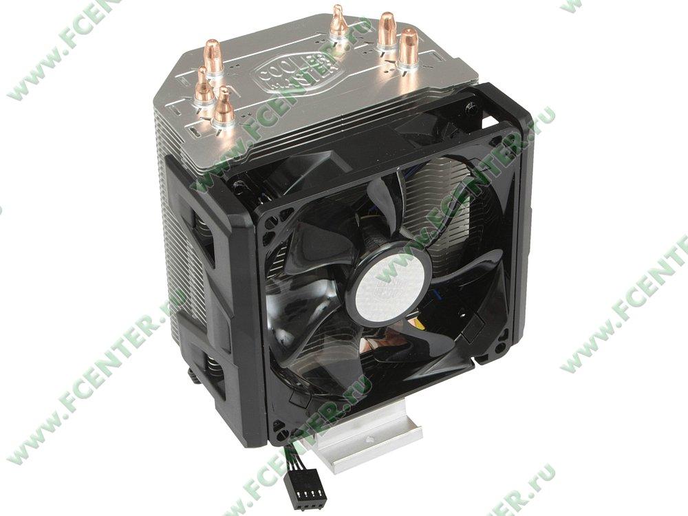 "Кулер для процессора Cooler Master ""Hyper 103 RR-H103-22PB-R1"". Вид спереди 1."