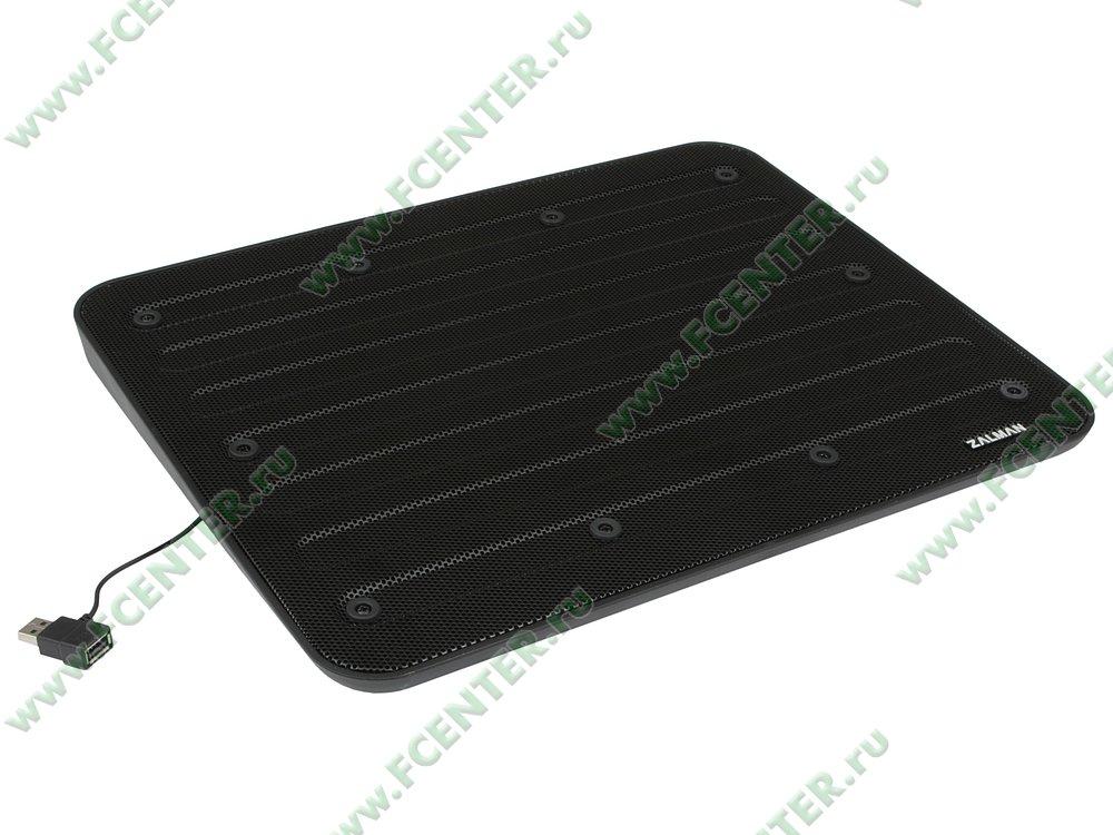 """Подставка для ноутбука Zalman """"ZM-NC3"""". Вид спереди."""