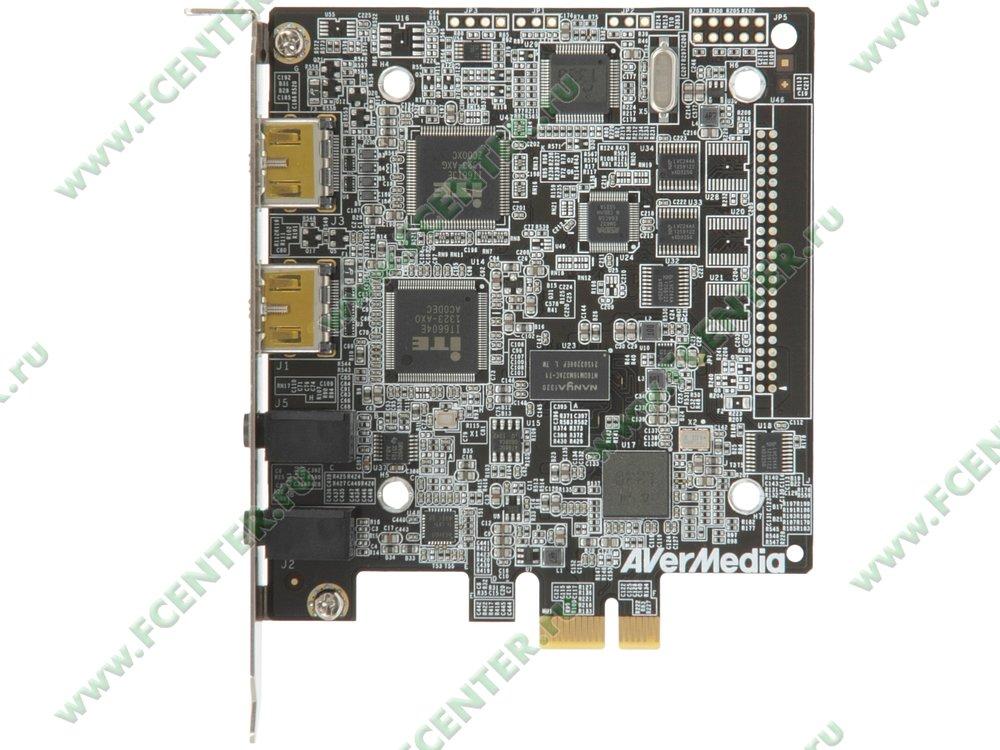"""Устройство видеозахвата AVerMedia """"Live Gamer HD Lite"""" (PCI-E x1). Вид сверху."""