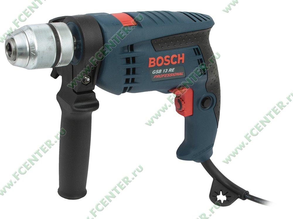 """Дрель-шуруповёрт Bosch """"GSB 13 RE Professional"""". Вид спереди."""