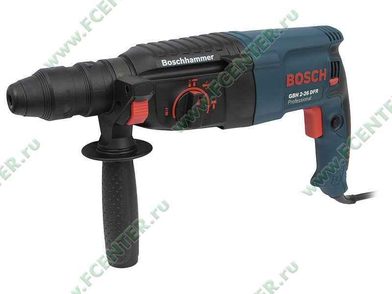 "Перфоратор Bosch ""GBH 2-26 DFR Professional"". Вид спереди."