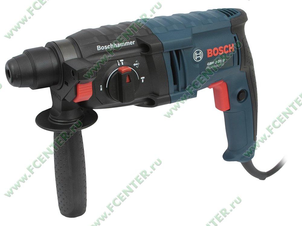 "Перфоратор Bosch ""GBH 2-20 D Professional"". Вид спереди."