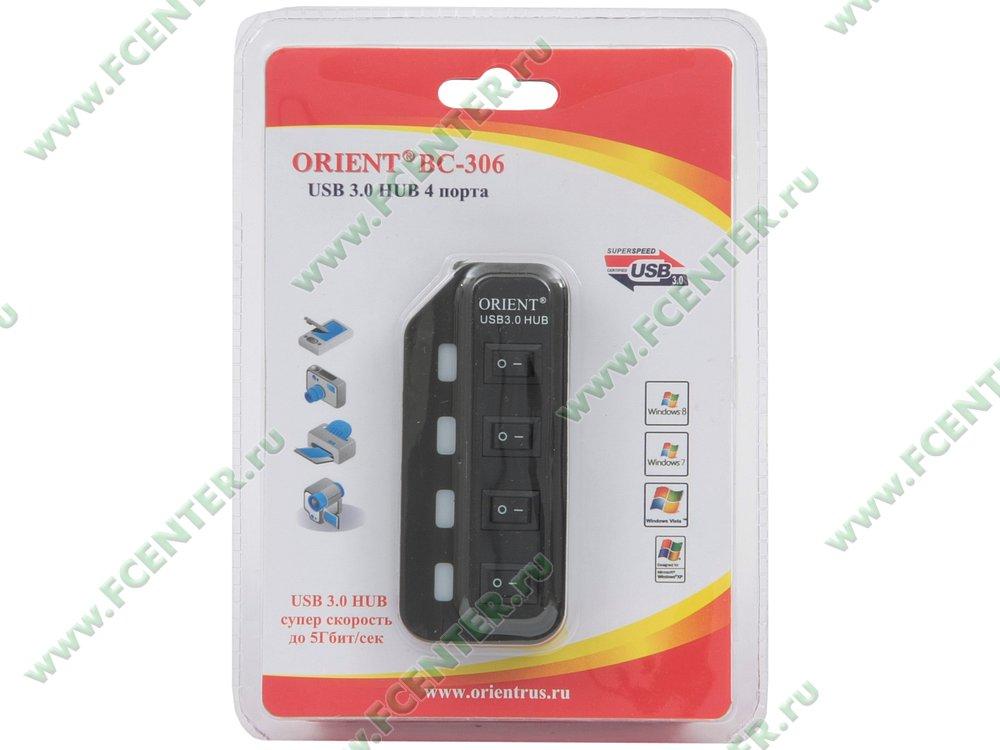 """������������ USB3.0 ORIENT """"BC-306"""" (ret)"""