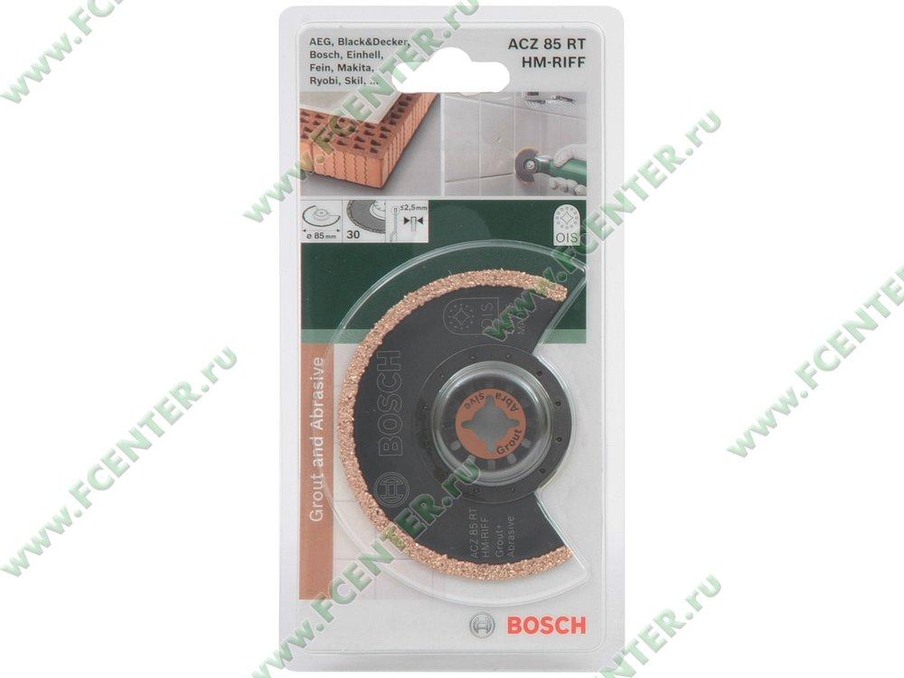 "Аксессуар к инструменту - Bosch ""ACZ 85 RT HM-RIFF"". Коробка."