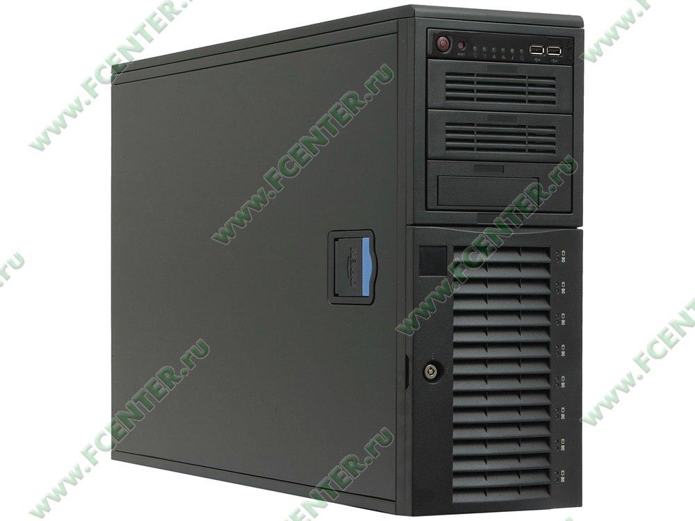 "Серверный корпус Supermicro ""CSE-743TQ-865B-SQ"" (865Вт). Вид спереди 1."