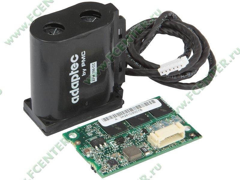 """Аксессуар для RAID-контроллера - Модуль Adaptec """"AFM-700 Kit"""". Вид cпереди 1."""