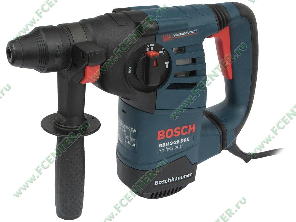 "Перфоратор Bosch ""GBH 3-28 DRE Professional"". Вид спереди."