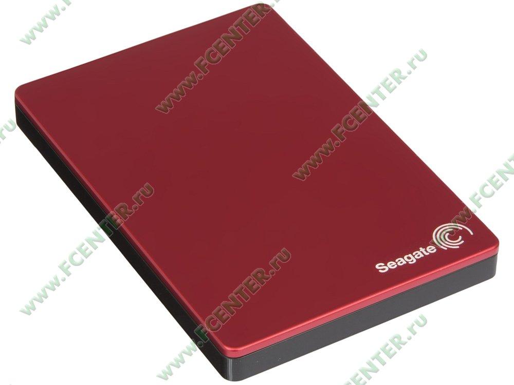 """Внешний жесткий диск 2ТБ Seagate """"Backup Plus Portable STDR2000203"""" (USB3.0). Вид спереди."""