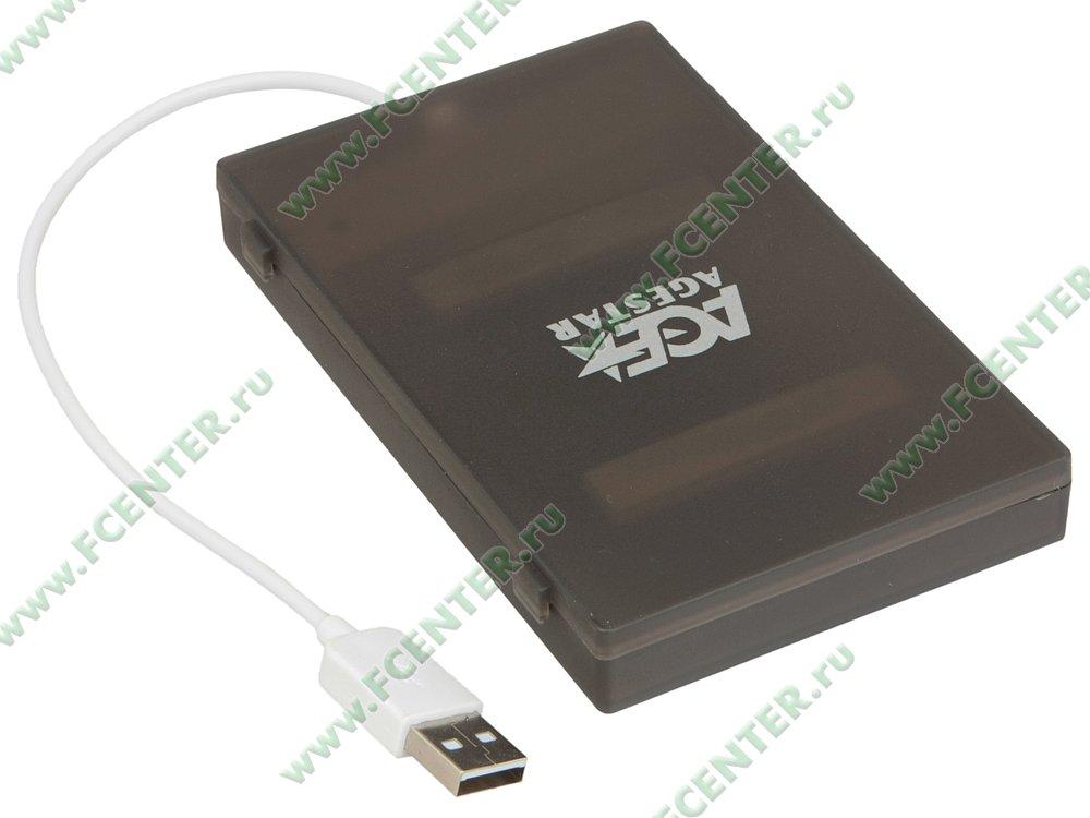 """Контейнер Agestar """"SUBCP1"""" (USB2.0). Вид спереди."""