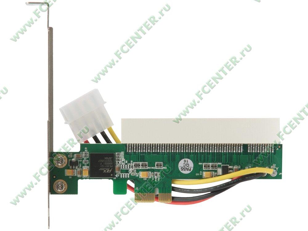 """Переходник PCI-E x1->PCI Espada """"E PCI F-PCI M4 p Ad"""" (oem)"""