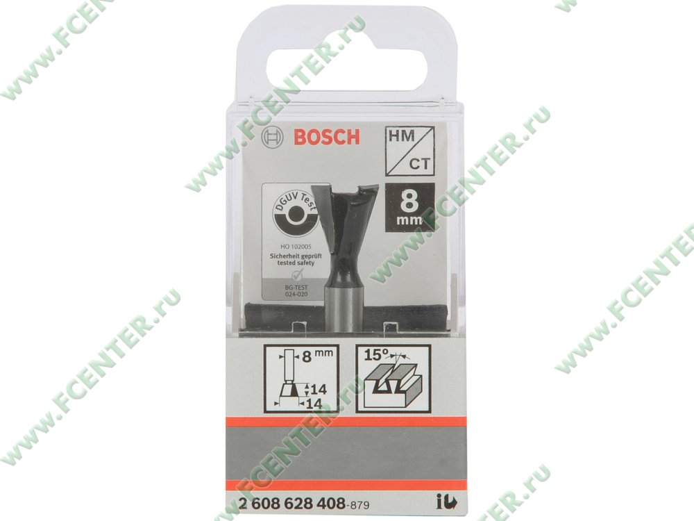 Аксессуар к фрезерной машине Bosch 2608628408. Коробка.