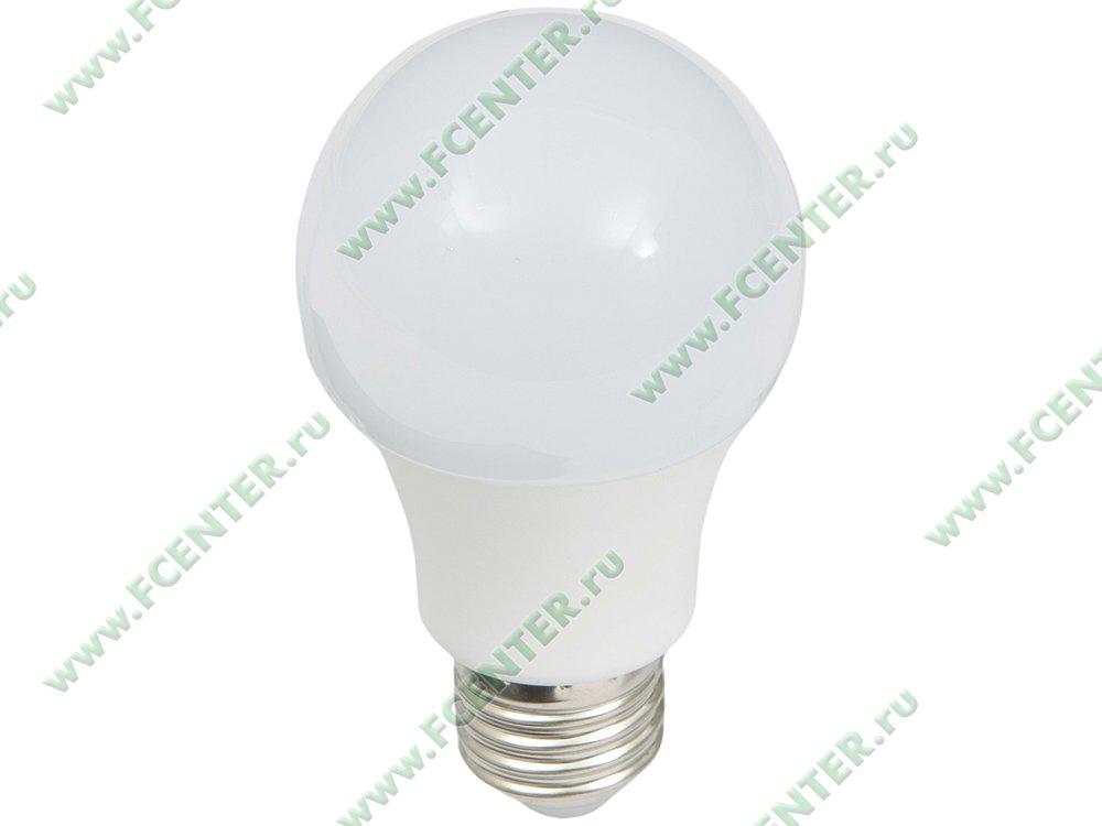 """Лампа светодиодная FlexLED """"LED-E27-8.5W-01WW"""". Вид спереди."""