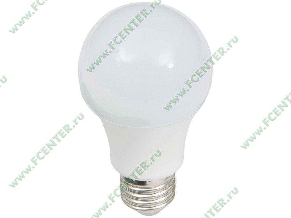 "Лампа светодиодная FlexLED ""LED-E27-8.5W-01CW"". Вид спереди."
