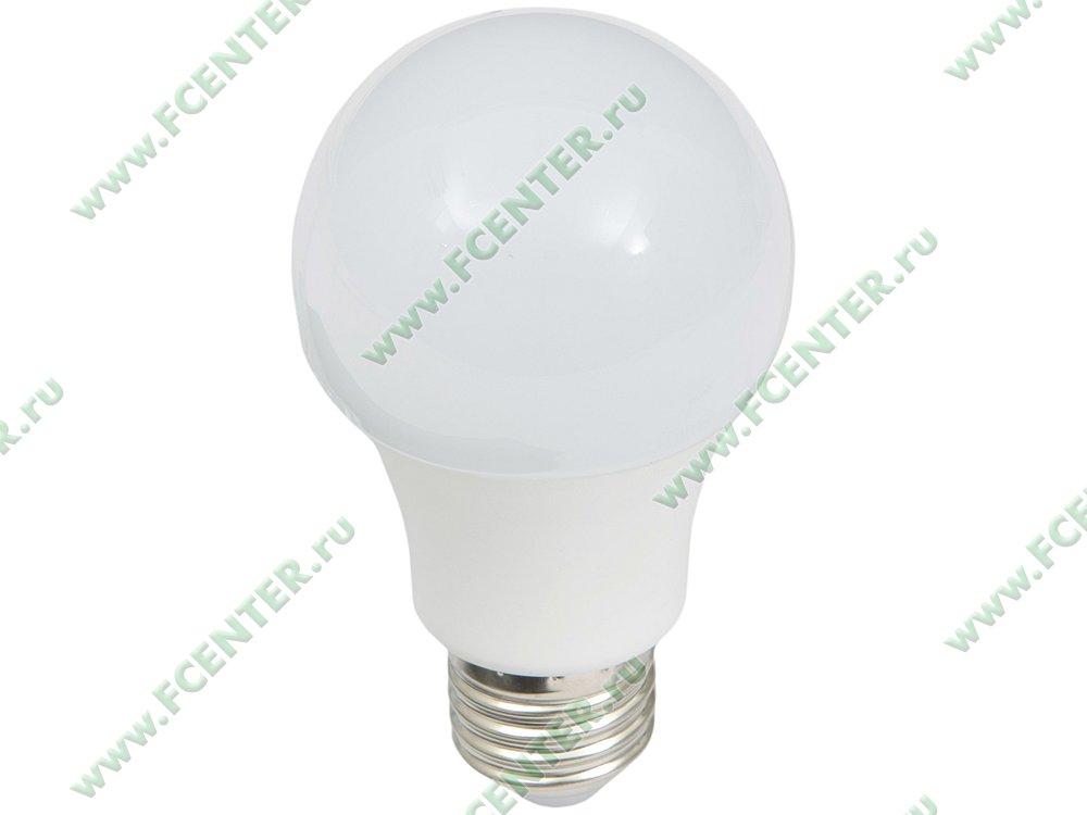 """Лампа светодиодная Лампа FlexLED """"LED-E27-10.5W-01CW"""". Вид спереди."""
