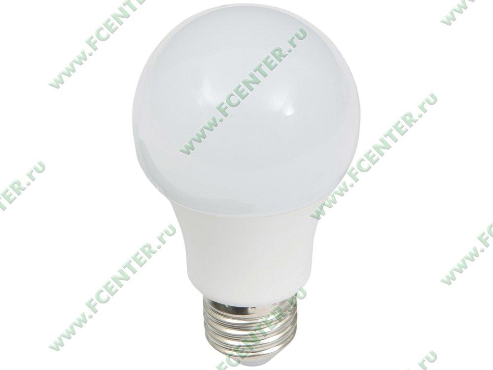 """Лампа светодиодная FlexLED """"LED-E27-10.5W-01NW"""". Вид спереди."""