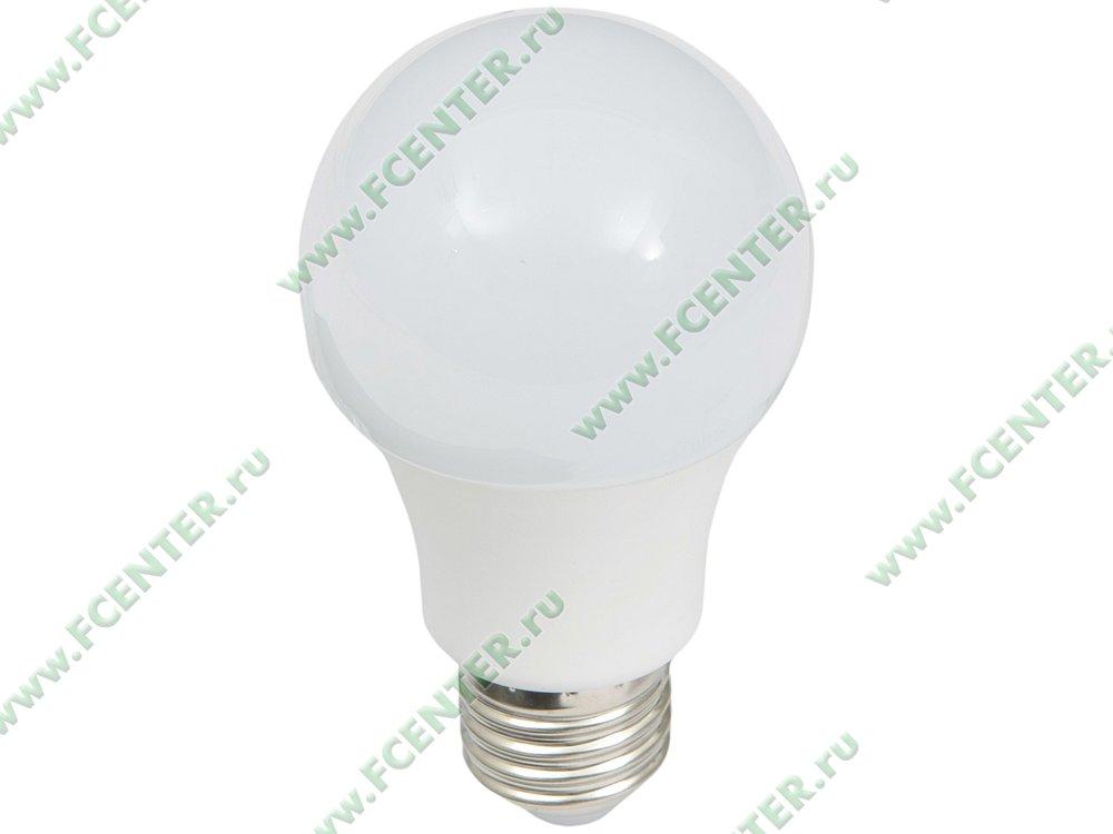 """Лампа светодиодная Лампа FlexLED """"LED-E27-8.5W-01NW"""". Вид спереди."""