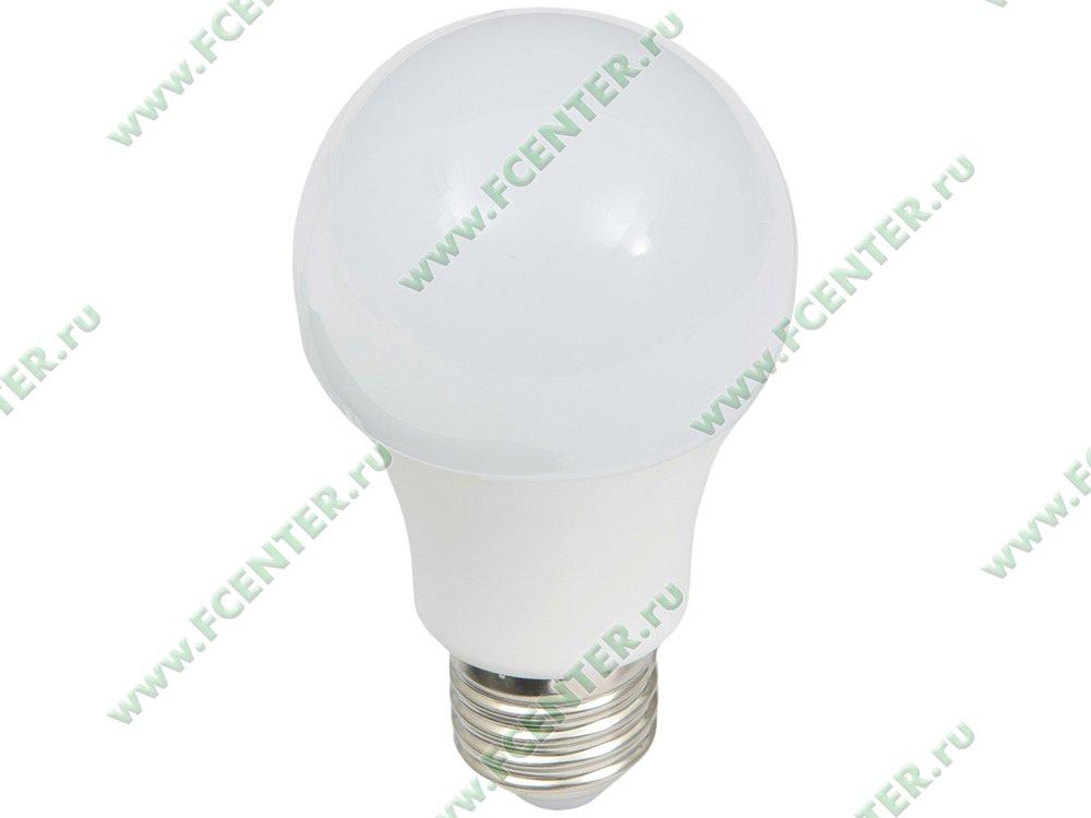 """Лампа светодиодная FlexLED """"LED-E27-5W-01NW"""". Вид спереди."""