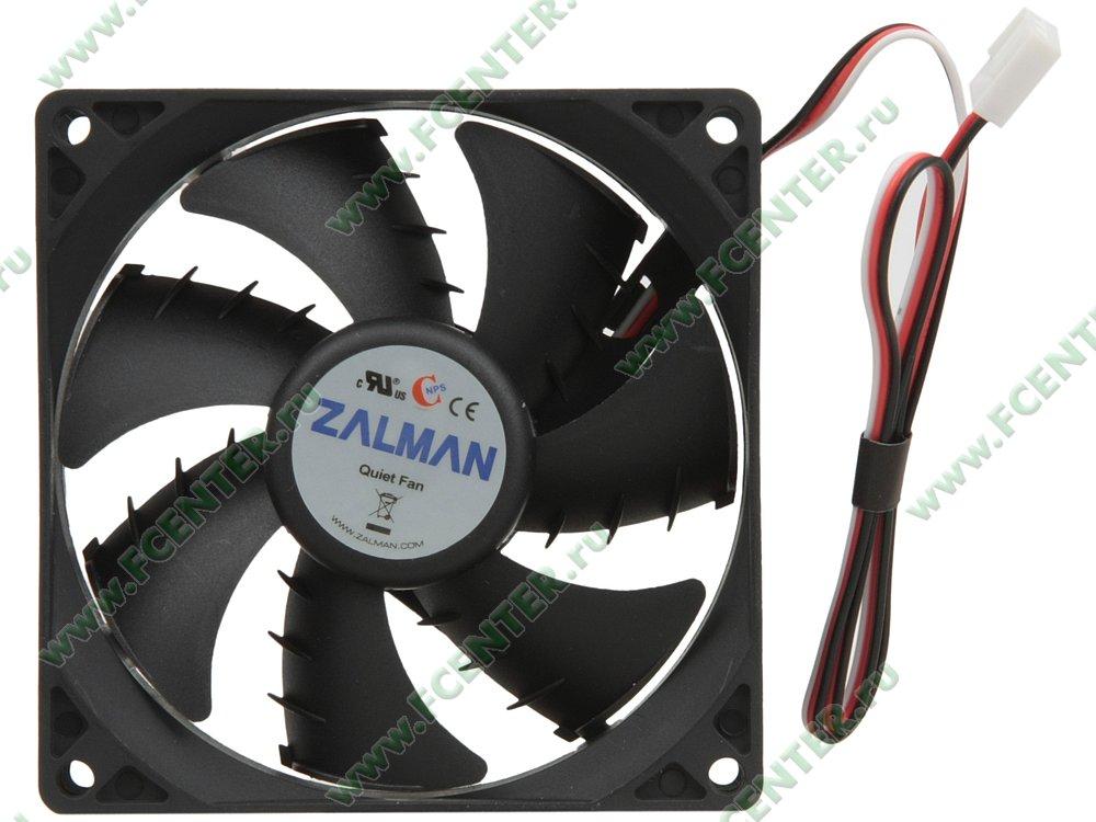 """Вентилятор Zalman """"ZM-F2 PLUS(SF)"""" d92мм. Вид сверху."""