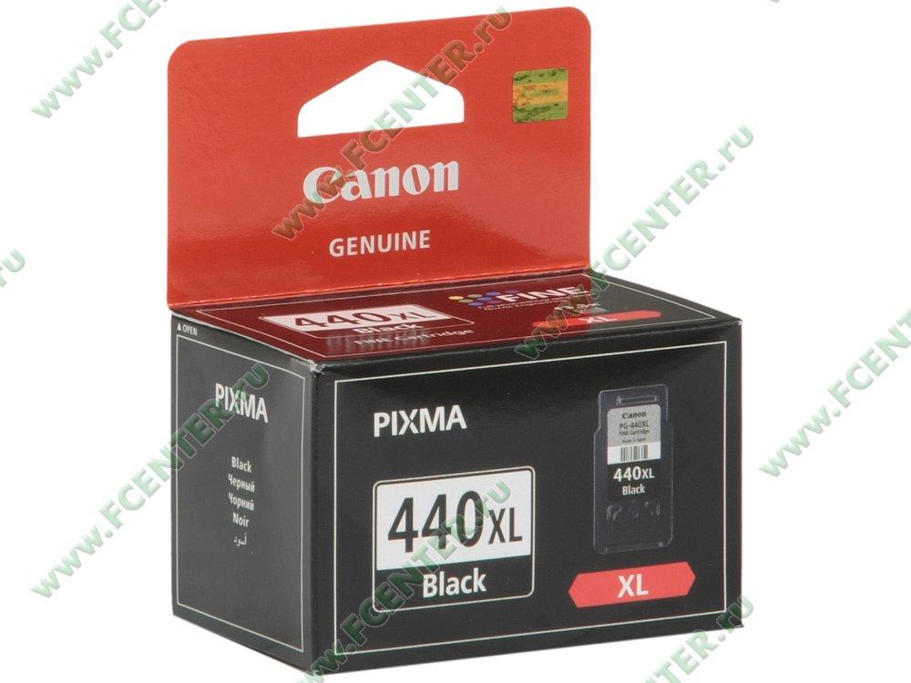 "Картридж Canon ""PG-440XL"" (черный). Коробка."