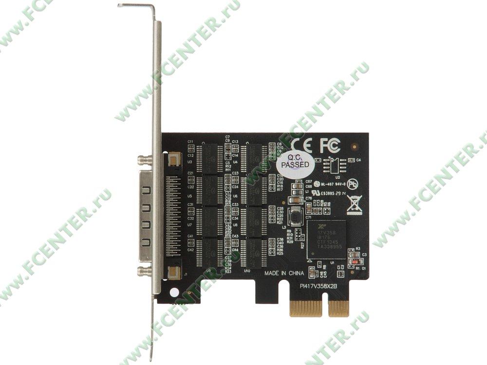 """Контроллер COM STLab """"I-530"""" (PCI-E). Вид сверху."""