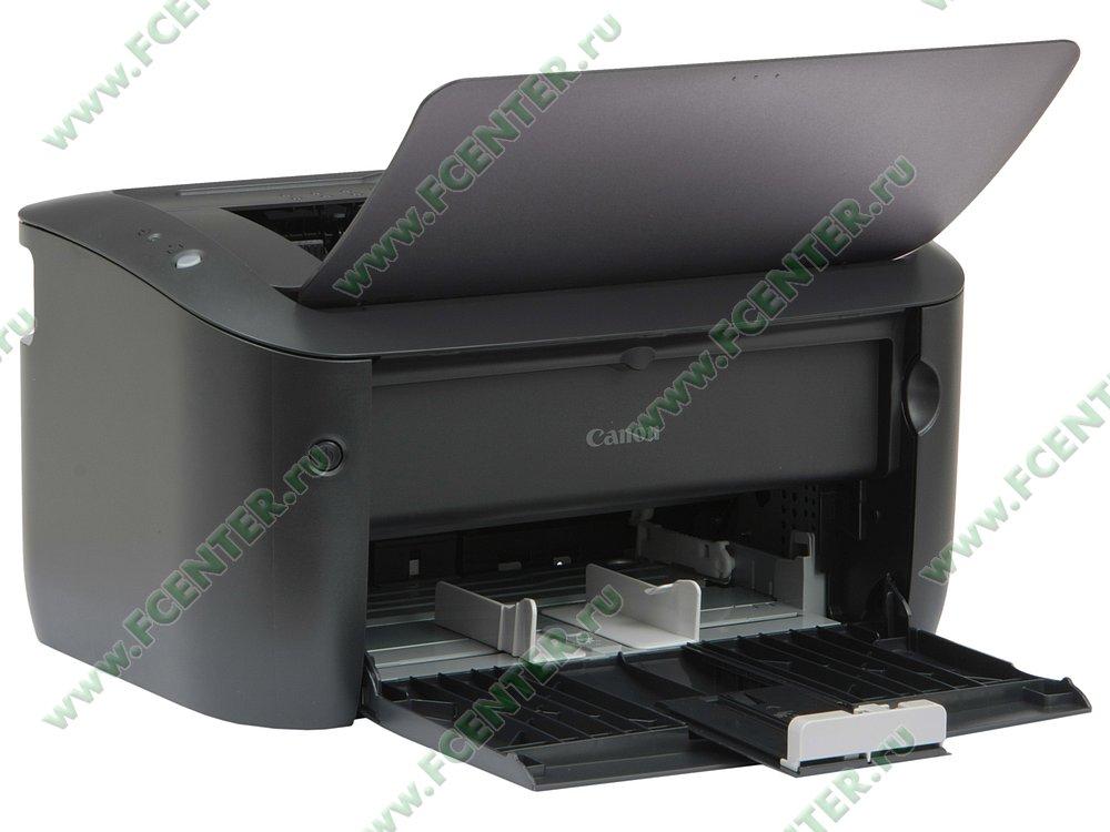 """Лазерный принтер Canon """"i-SENSYS LBP6030B"""" A4 (USB2.0). Вид спереди 1."""