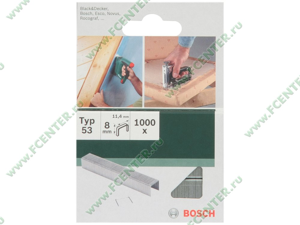 Скоба Bosch 2609255820. Коробка.