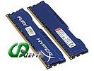 """Модуль памяти 2x8ГБ DDR3 Kingston """"HyperX FURY"""" (PC12800, CL10)"""