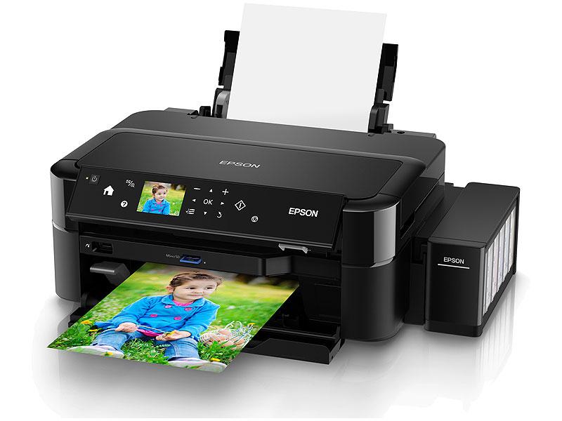 """Струйный принтер Epson """"L810"""" A4 (USB). Фото производителя 1."""