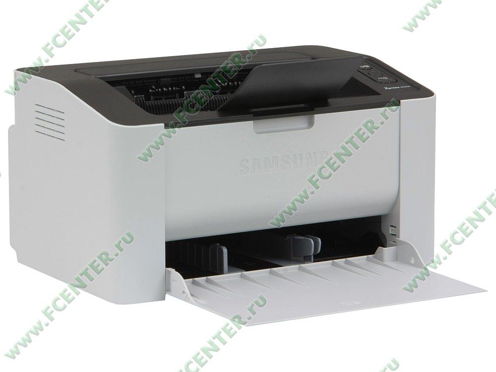 """Лазерный принтер Samsung """"Xpress M2020"""" A4 (USB2.0). Вид спереди 1."""