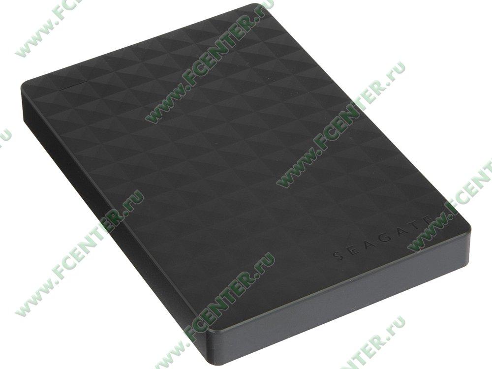 "Внешний жесткий диск 500ГБ Seagate ""STEA500400"" (USB3.0). Вид спереди."