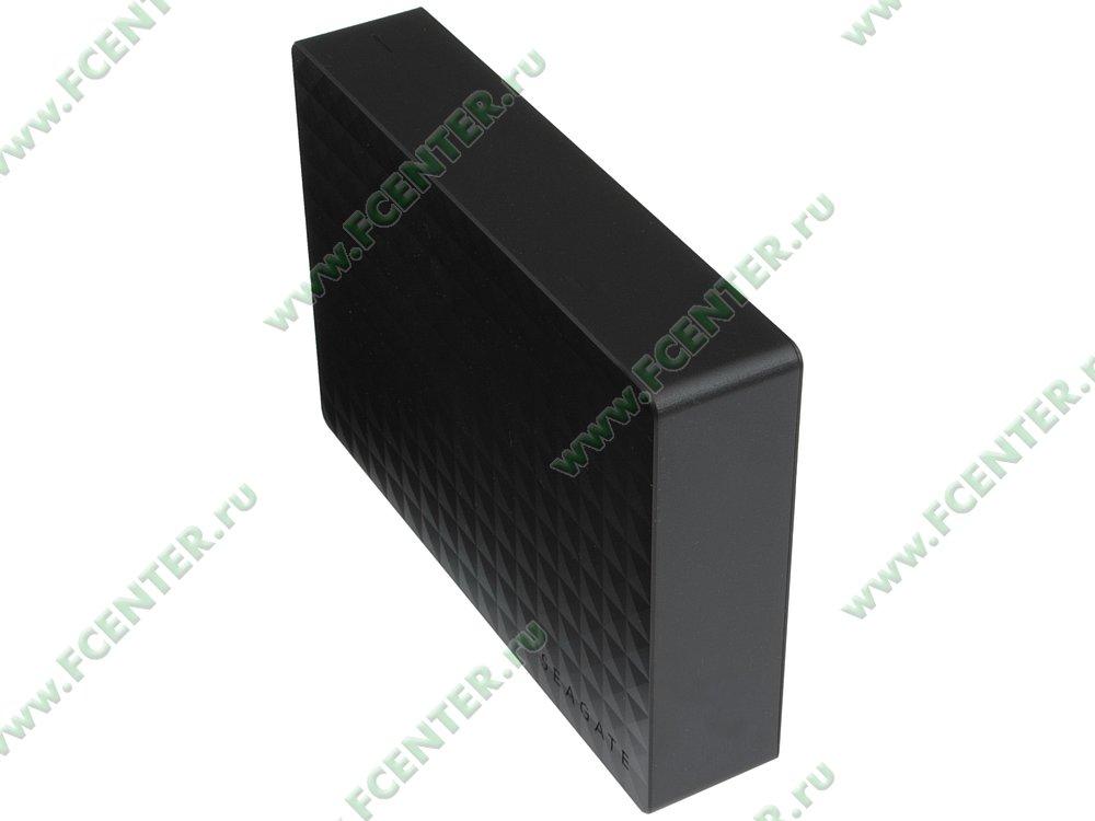 """Внешний жесткий диск 3ТБ Seagate """"STEB3000200"""" (USB3.0). Вид спереди."""