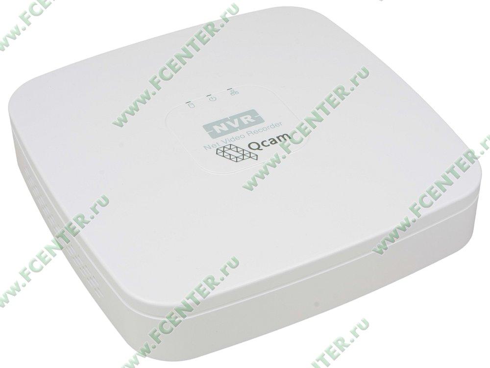 """Цифровой IP-видеорегистратор Q-Cam """"QMR-04"""". Вид спереди."""