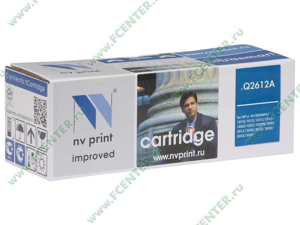 "Картридж NV Print ""Q2612A"" (черный). Коробка."